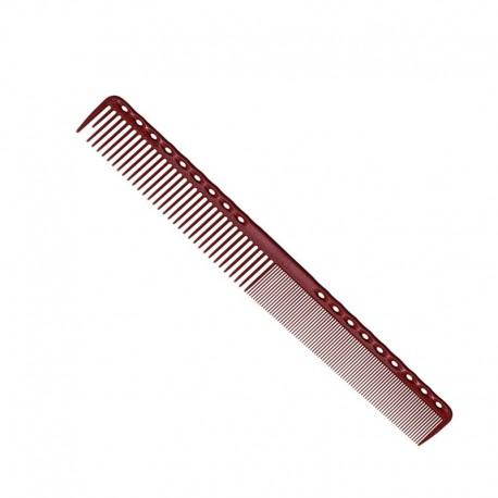 Парикмахерская расческа Y.S.Park YS-331-08 красная