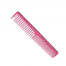 Парикмахерская расческа Y.S.Park YS-332-07 розовая