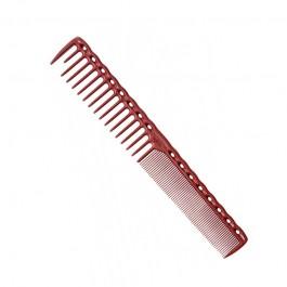 Парикмахерская расческа Y.S.Park YS-332-08 красная