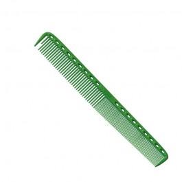 Расческа для стрижки многофункц. комбин. 21,5 см зеленая