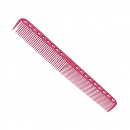 Расческа для стрижки многофункциональная комбинированная 21,5 см розовая