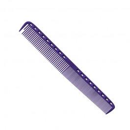 Расческа для стрижки многофункц. комбин. 21,5 см фиолет.