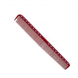 Расческа для стрижки многофункц. комбин. 21,5 см красная