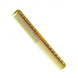 Парикмахерская расческа Y.S.Park YS-339-06 янтарная