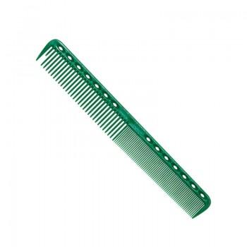 Парикмахерская расческа Y.S.Park YS-339-10 зеленая