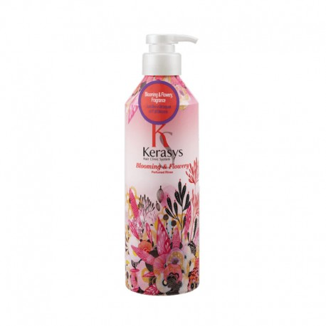 KeraSys BLOOMING & FLOWERY, Кондиционер для волос Цветение 600 мл