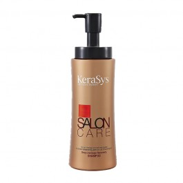KeraSys Шампунь для волос Salon Care Интенсивное Восстановление 600г