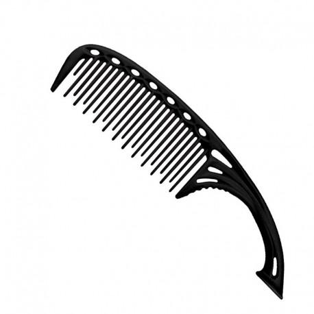 Гребень с изогнутой ручкой YS-605 black