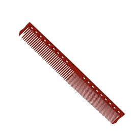 Парикмахерская расческа Y.S.Park YS-345-08-G45 красная
