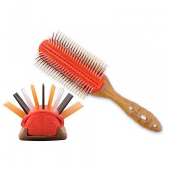 Щетка для волос Pro Wood Styler, 9 рядов Y.S.PARK-508