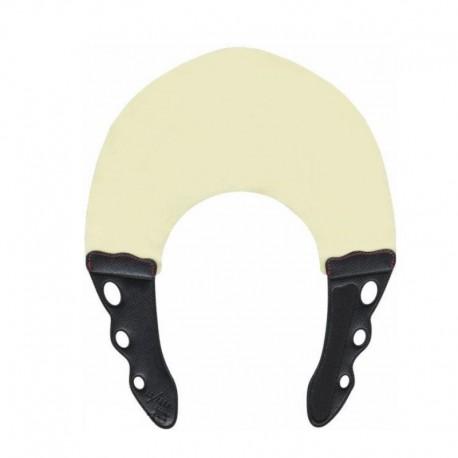Воротник для стрижки и окрашивания 0.3мм, натуральный с черным