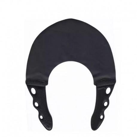 Воротник для стрижки и окрашивания 0.6мм, черный с черным
