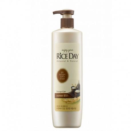 CJ Lion Riceday Кондиционер для порвежденных волос увлажняющий 550 мл