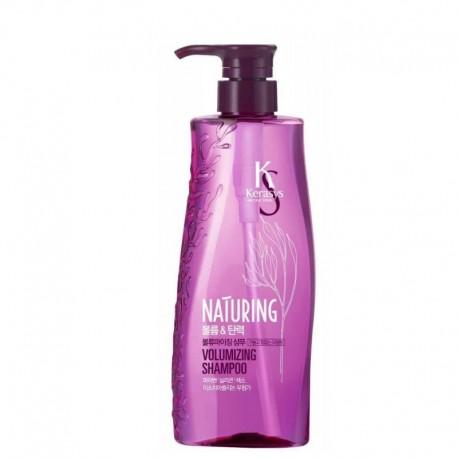 KeraSys Шампунь для волос Naturing объем и эластичность с морскими водорослями 500 мл