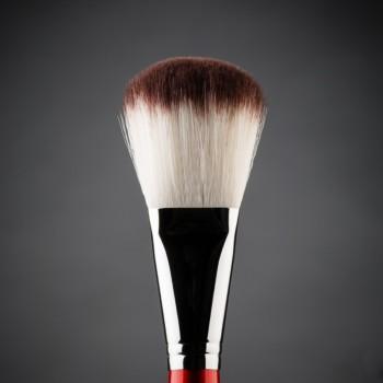 Кисть для макияжа овальная, для пудры, шлифовки и полировки, синтетика Ludovik №2sc