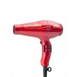 Фен профессиональный красный Parlux 3800 Eco Friendly Ceramic & Ionic быстрая сушка