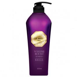 Безсульфатный шампунь Professional для максимального объема LA MISO Volume Boost 500 мл
