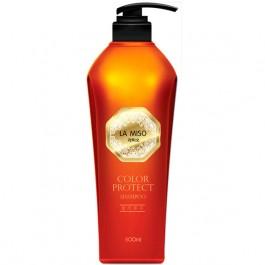 Безсульфатный шампунь Professional для окрашенных волос LA MISO Color Protect 500 мл