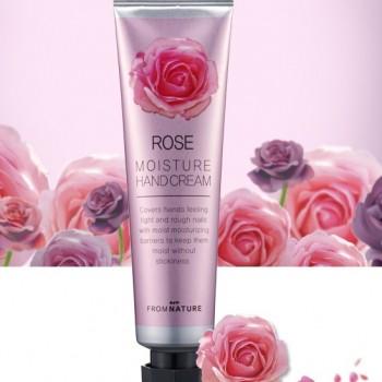 Увлажняющий крем для рук и ногтей с маслом розы ECHOICE 50 г