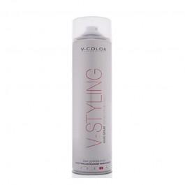 V-COLOR V-Styling Лак для волос экстрасильной фиксации Hair Spray Extra Strong Hold 4 professional 400мл.