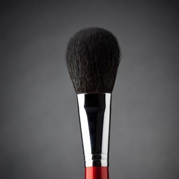 Кисть макияжная профессиональная Ludovik № 3k для пудры, сухой коррекции и румян, коза