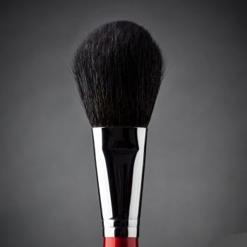 Кисть макияжная профессиональная Ludovik №2k для пудры, сухой коррекции и румян, коза