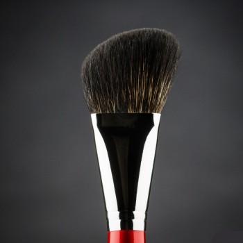Кисть для макияжа Ludovik №s2e скошенная, для моделирования и коррекции, енот