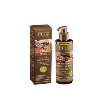ECOLAB Масло для восстановления ослабленных и секущихся волос аргановое argana hair oil