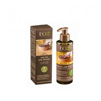 ECOLAB Масло для укрепления и роста волос шелковое silk hair oil