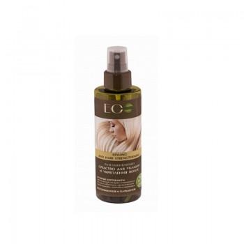 ECOLAB Разглаживающее средство для укладки и укрепления волос