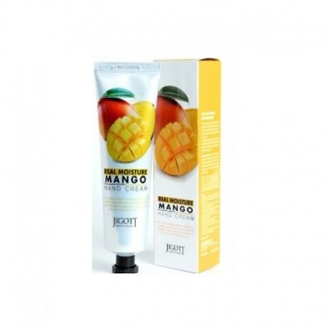 Jigott Real Moisture Крем для рук с экстрактом манго 100 мл