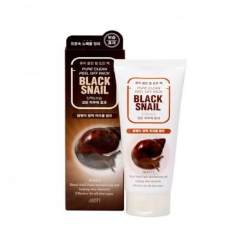 Гель-пилинг с экстрактом слизи черной улитки, 180 мл, Jigott Premium