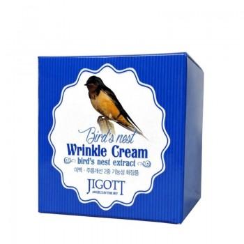 Антивозрастной крем с экстрактом ласточкиного гнезда JIGOTT Bird's Nest Wrinkle Cream 70 мл