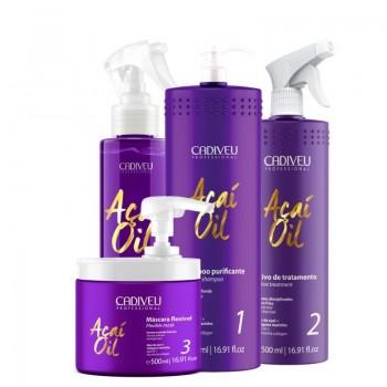 Набор для коллагенирования волос Cadiveu Acai Oil