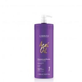 Очищающий шампунь Cadiveu Acai Oil Shampoo Purifying 500 ml