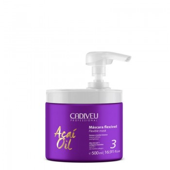 Гибкая маска Cadiveu Acai Oil Flexible Mask professional 500 ml