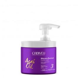 Гибкая маска Cadiveu Acai Oil Flexible Mask professional 500 ml