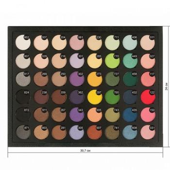 JUST Palette of Eyeshadow Палитра теней 48 цветов L-29мм