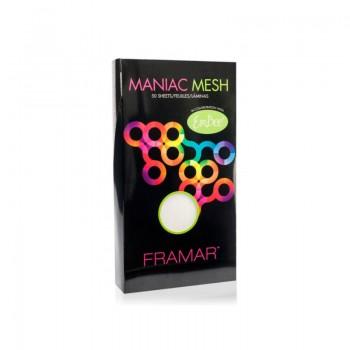 Многоразовые меш-пластины для окрашивания прядей Framar / Maniac Mesh