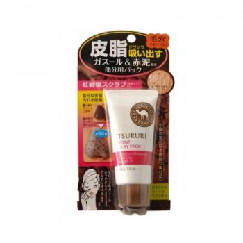 Крем-маска для лица BCL TSURURI MINERAL CLAY PACK c Марокканской глиной и медовым сахаром 55 г