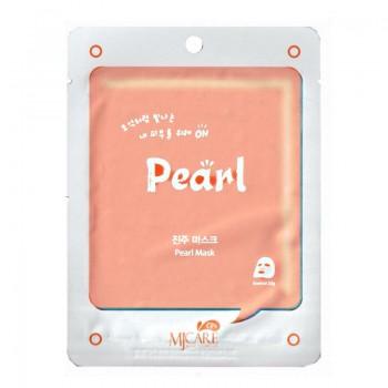 MJ Care On Pearl Mask Pack маска для лица с жемчугом