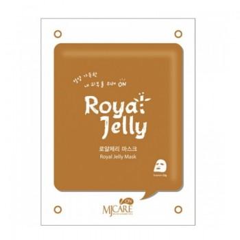 MJ Care On Royal Jelly Mask Pack маска для лица с маточным молочком