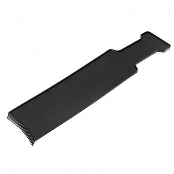Лопатка для мелирования Harizma h10971 (8х35см, черная)