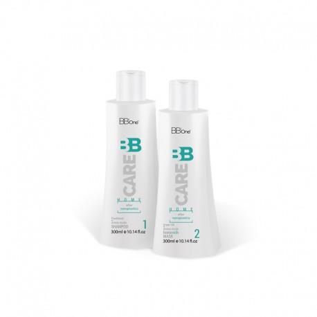 Набор BB Care Nanoplastica для волос после химического воздействия 2 x 300 мл