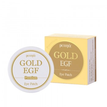 Патчи для глаз Petitfee Premium Gold & EGF Eye Patch 60шт