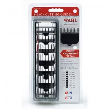 Набор черных насадок на машинку WAHL для стрижки