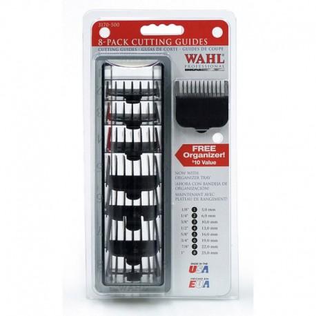 Набор черных насадок на WAHL