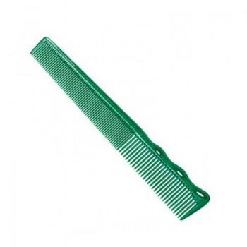 Парикмахерская расческа Y.S.Park YS-232-10 зеленая