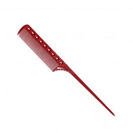 Парикмахерская расческа Y.S.Park YS-107-08 красная