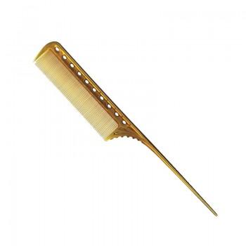 Парикмахерская расческа Y.S.Park YS-111-06 янтарная